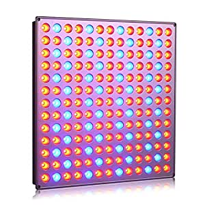 Roleadro Panel Grow Light Series,45W LED Plant Grow Light with Red Blue Spectrum for Growing&Flowering