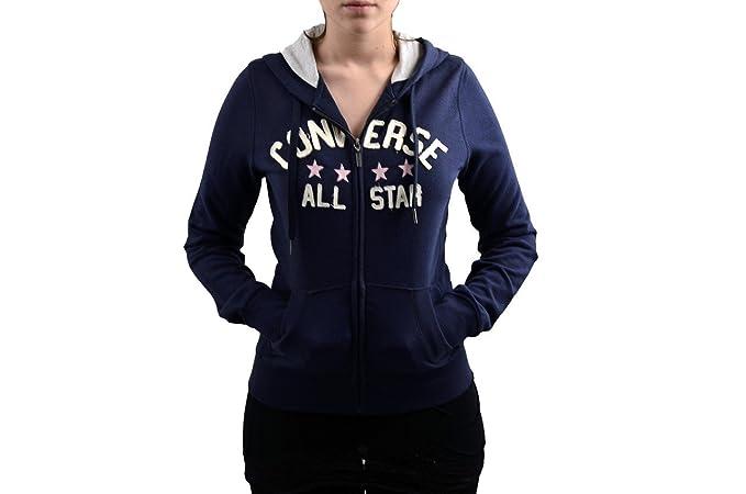 Converse - Sudadera con Capucha - para Mujer Azul Turquesa Talla:XS: Amazon.es: Deportes y aire libre