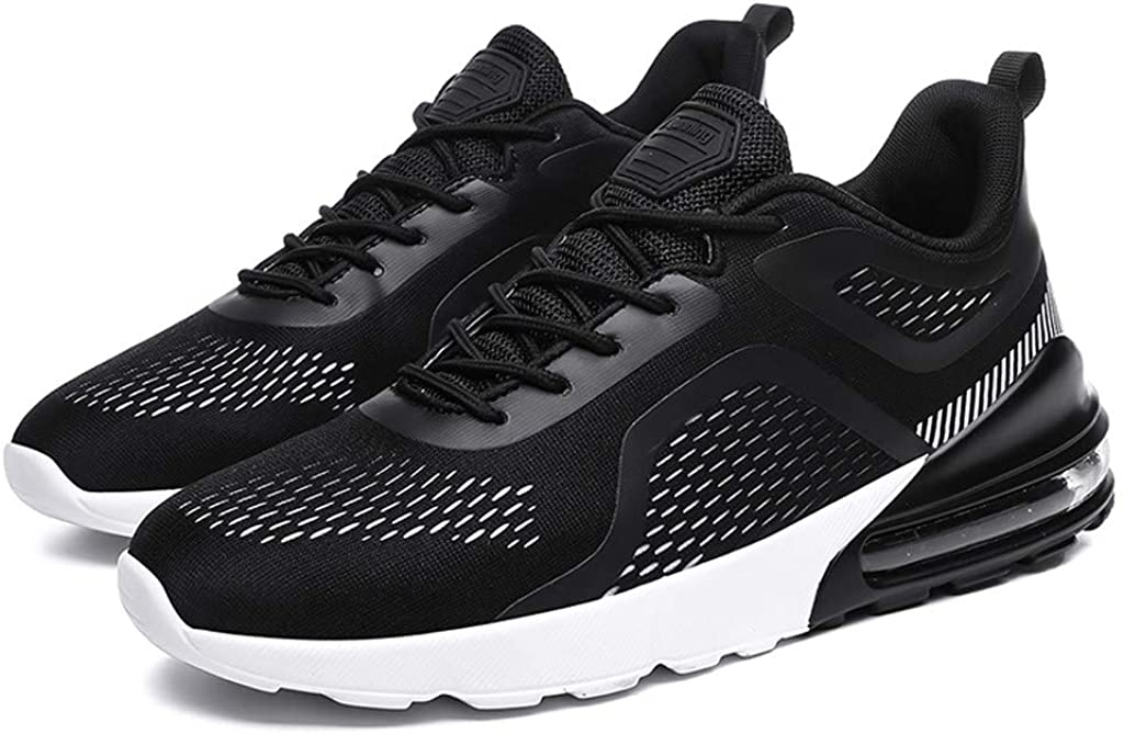 Casual Sneakers for Men の Air Cushion Running Sneakers Non Slip Cool Walking Shoes Outdoor Trainers Zapatos de Hombre