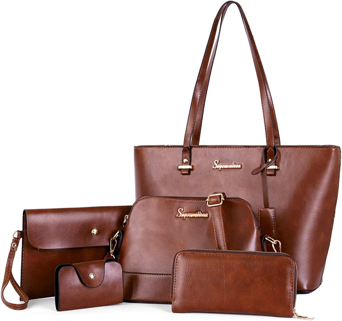 Soperwillton Handbag Set...