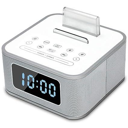 Reloj despertador con altavoz Bluetooth multifuncional ...