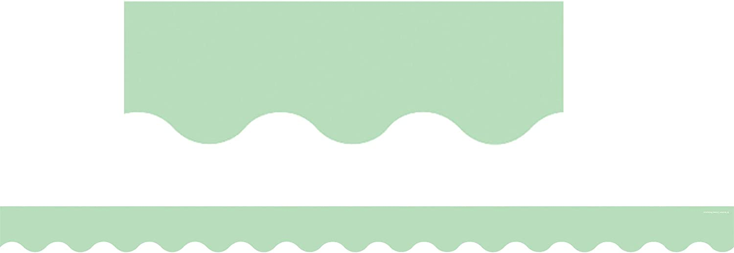 Teacher Created Resources Mint Green Scalloped Border Trim (TCR8870)