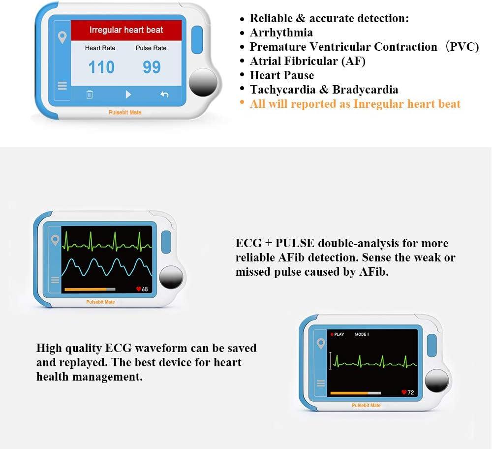 Amazon.com: ECG/EKG Heart Health Tracker with PC Software ...