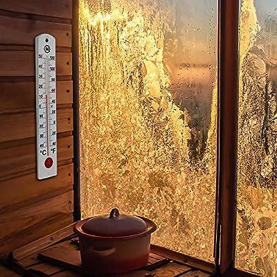 MARATHON BA030001 Indoor or Outdoor Wall Thermometer by MARATHON