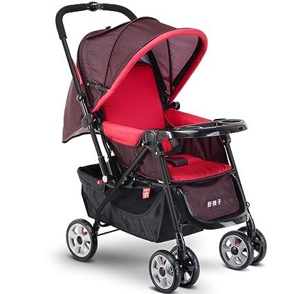 DS-carro de bebé El carrito para bebés puede ser liviano para sentarse en todo