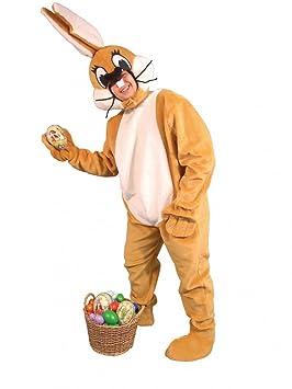 Traje de conejo de peluche, marrón, un tamaño de: Amazon.es ...