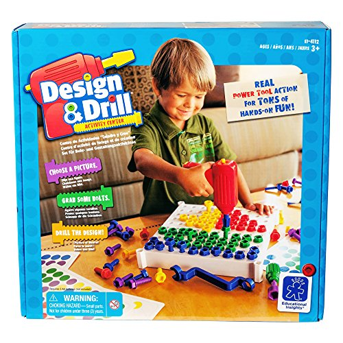 Educational Insights Design & Drill Activity Center image