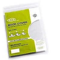 Forros para libro MSO, Medida 21 cm altura, ancho ajustable, Material LDPE Pack de 5 unidades.