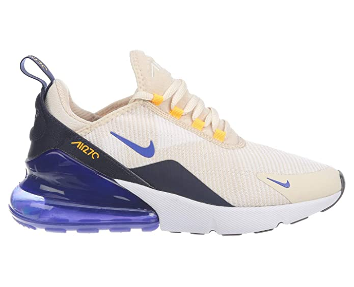 b37af645f Amazon.com | Nike Women's Air Max 270 Shoes (9.5, White/Purple) | Fashion  Sneakers