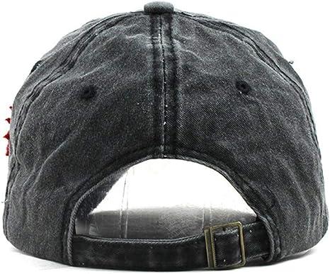 Gorra de Béisbol con Algodón - Uribaky Unisex Sombrero para Hombre ...