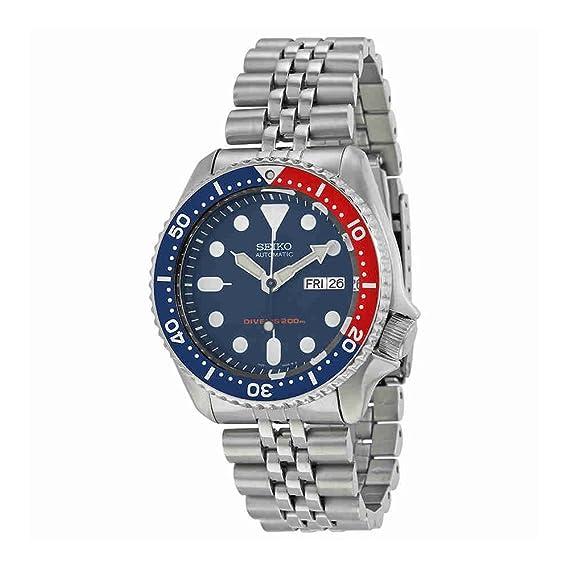 Amazon.com: Seiko SKX009K2 reloj analógico ...
