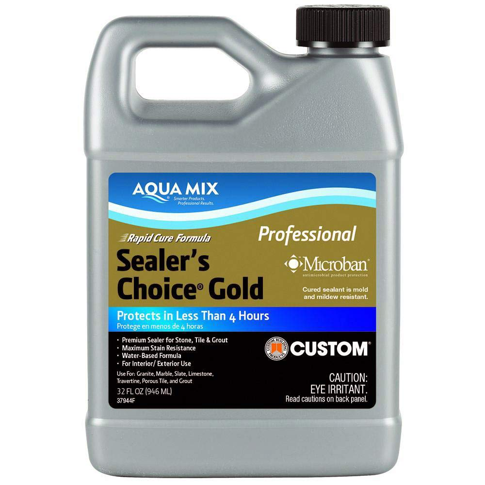 Aqua Mix Sealer's Choice Gold Quart, 32 Ounce