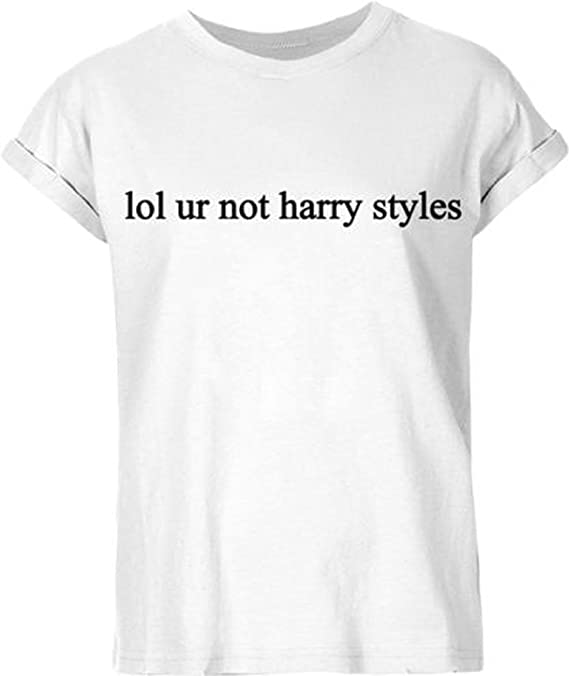 PL Legends New Unisex LOL Ur Not Harry Styles Camiseta Top One Direction 1D: Amazon.es: Ropa y accesorios