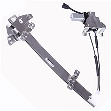 Power Window Regulators Rear Right Passengers Side Replacement Parts for 1997-2004 Buick Regal 1998-2002 Oldsmobile Intrigue