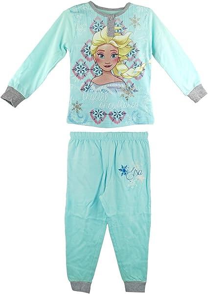 22-2281 Pijama de manga larga para niña Frozen de 2 a 7 años en algodón - 3/4 años: Amazon.es: Ropa y accesorios
