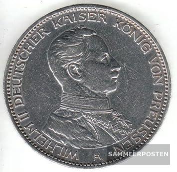 Deutsches Reich Jägernr 114 1914 A Sehr Schön Silber 1914 5 Mark