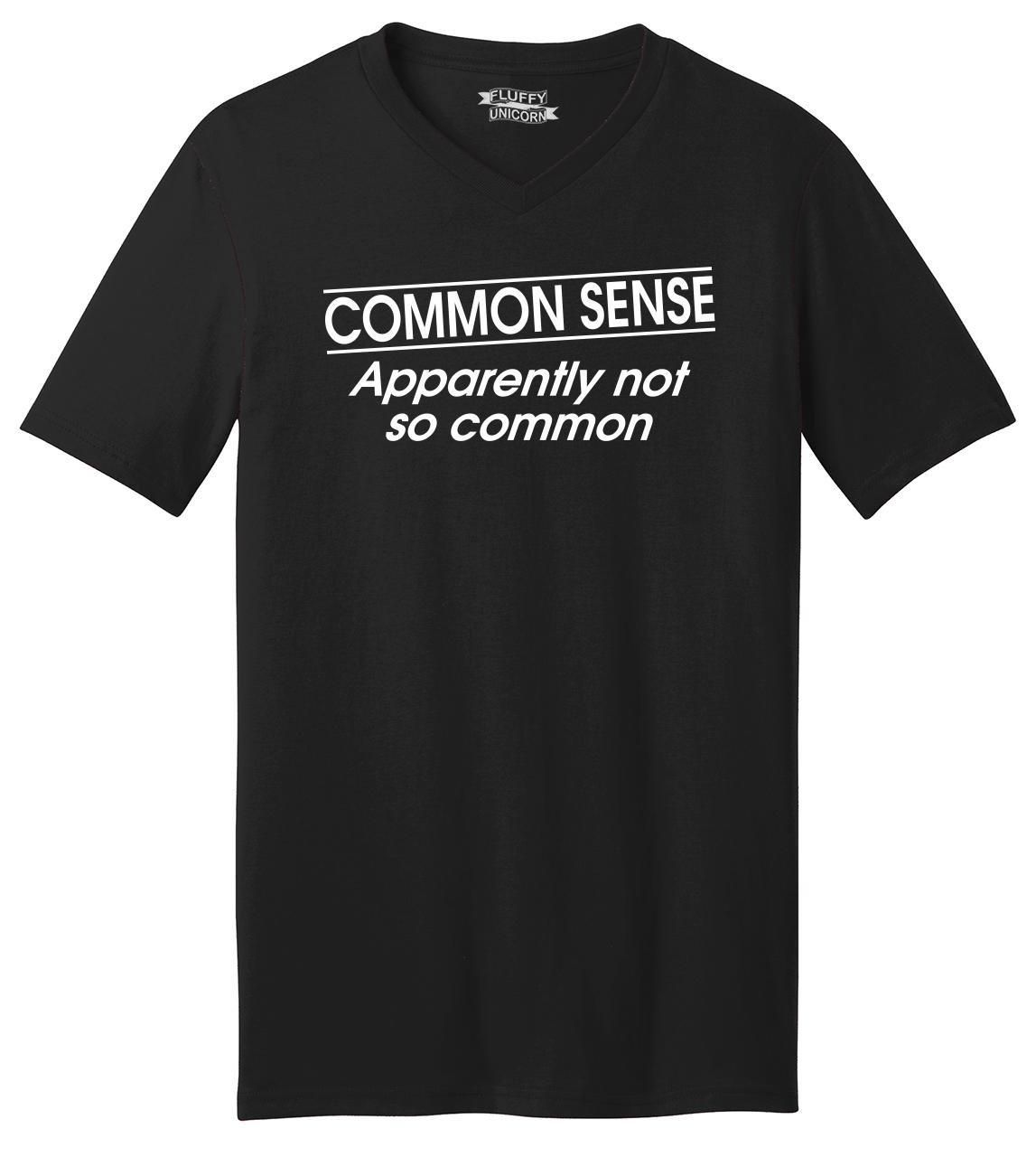 S Common Sense Not So Common Ts