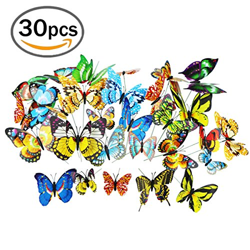 Butterfly Stakes 3 Sizes 2.8