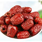 1 LB (16 oz) Seedless Organic Dried Jujube Dates,Chinese Red Date,Hand Selected