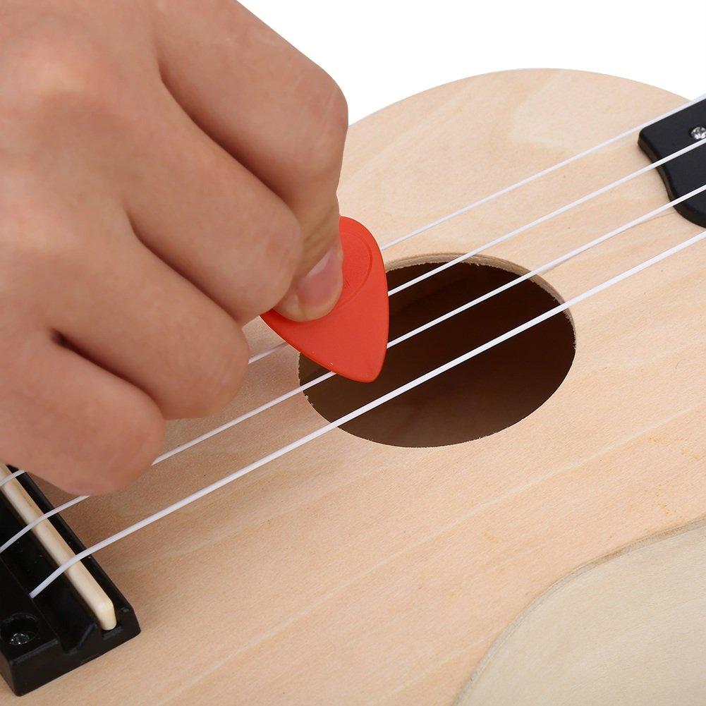 Kit de Herramientas de Guitarra Eléctrica Acústica para Cambiar Cuerdas Conjunto de Herramientas de Mantenimiento de Guitarras: Amazon.es: Instrumentos ...