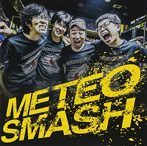The Boogie Jack - Meteo Smash (CD+DVD) [Japan CD] OBOCD-26