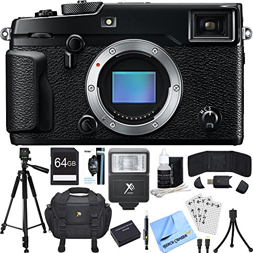 Fujifilm X-Pro 2 Mirrorless X-Trans CMOS III Black Digital C