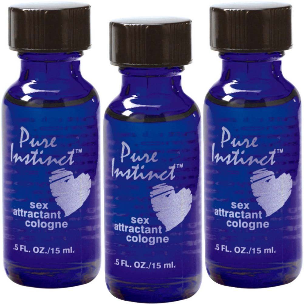 Pure Instinct 3 Pack - Pheromone Infused Perfume/cologne Jelique Products
