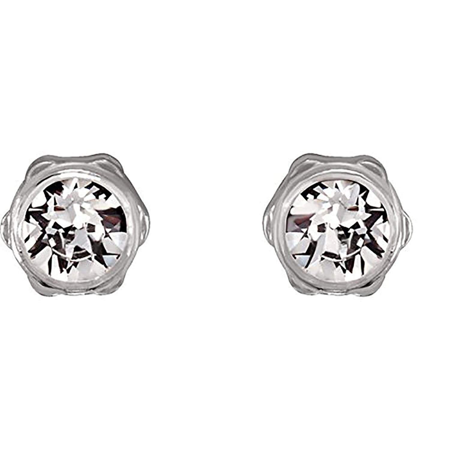 Amazon Blomdahl Medical Plastic Earrings with Crystal