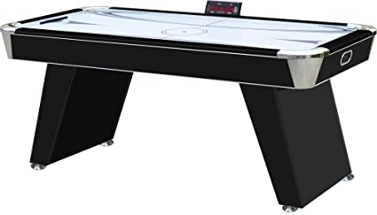 Lovely Playcraft Derby 6u0027 Air Hockey Table   Black