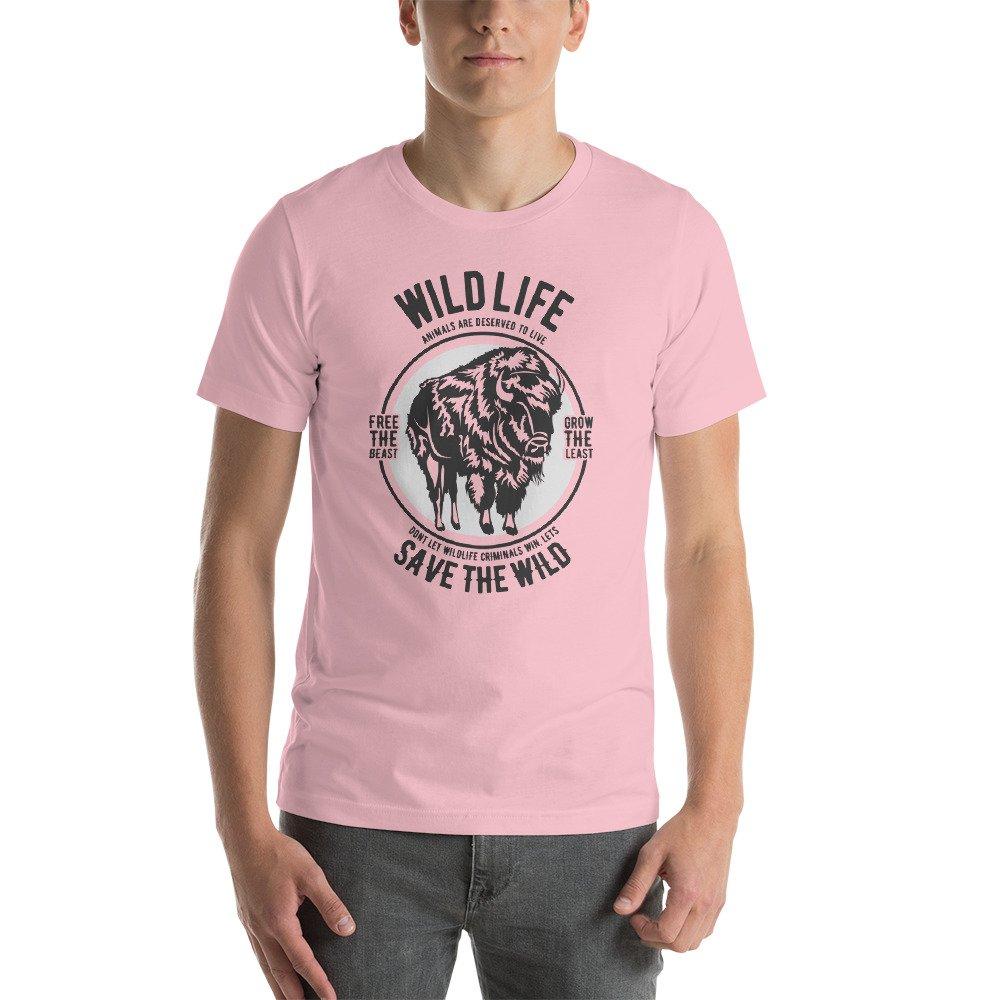 Short-Sleeve Unisex T-Shirt DR-MASTERMIND Wild Life