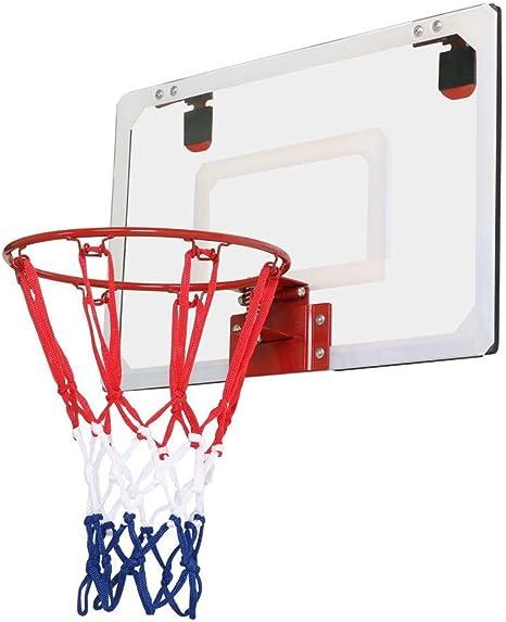 Yaheetech Aro de Baloncesto Canasta de Baloncesto Malla 45,7 x 30 ...