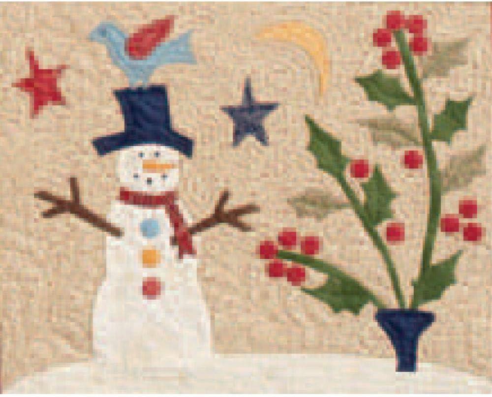 Snowman Friend Over The Meadow Kit by Jan Patek