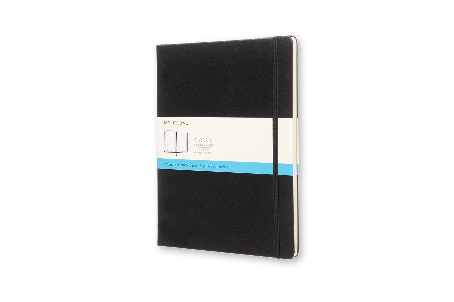 Moleskine Classic Hard Cover Notebook, Dotted, XL (7.5 x...