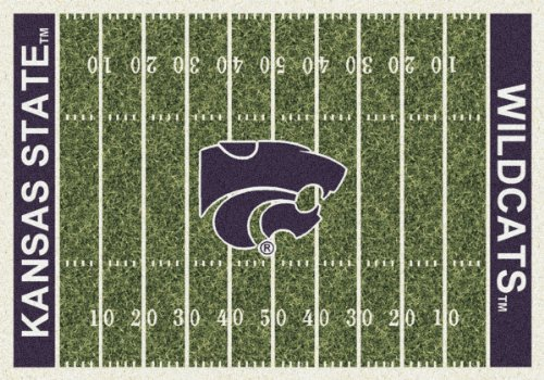 Kansas State Wildcats Milliken NCAA Home Field Area Rug (5'4