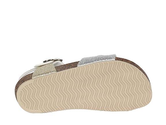 b2ca086a23d1c GoldStar Scarpe Sandalo Bambina 8846F Multi Platino PE18  Amazon.fr   Chaussures et Sacs