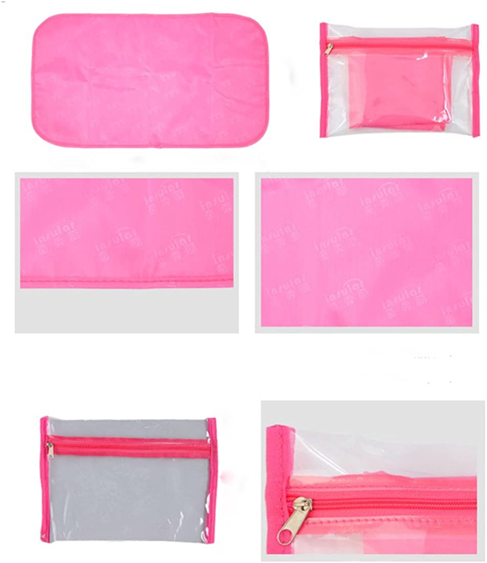 Waterproof Large Nappy Bags with Changing Pad and Insulated Pocket For Mom and Dad Baby Changing Bag