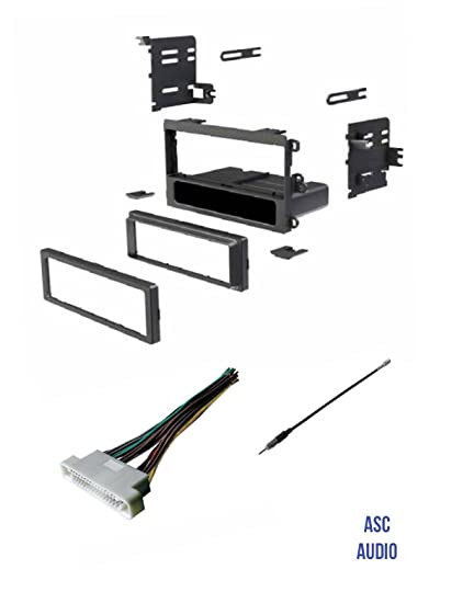 Carxtc Stereo Antenna Harness Adapter for Installing a New Radio Fits Pontiac Bonneville 02 03 04