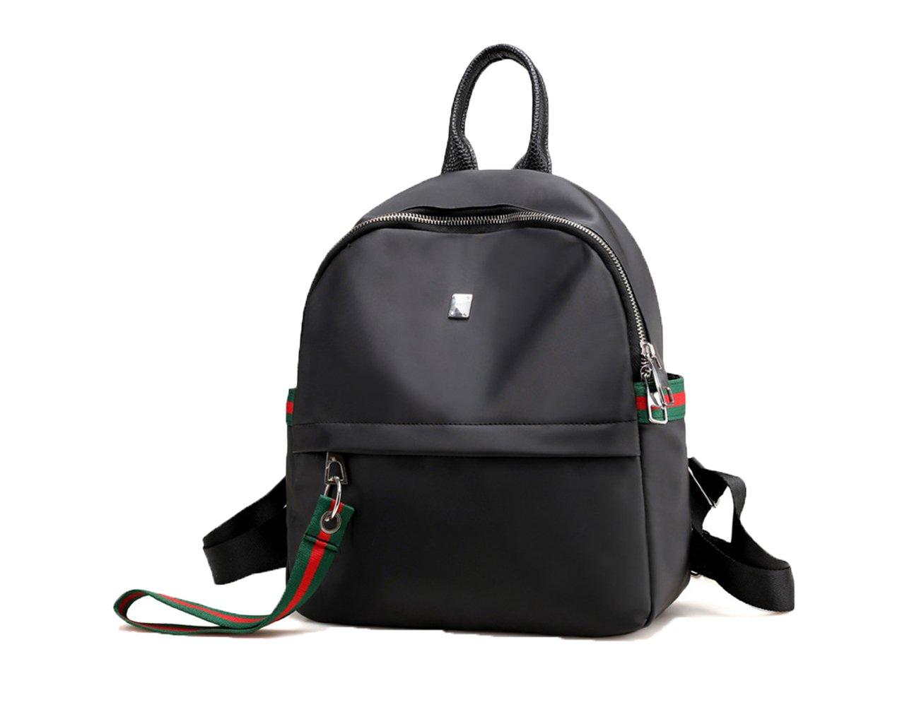 Seruno Oxford Backpack Purse Fashion Waterproof Backpacks Casual Shoulder Bags For Women Ribbon
