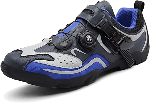 AEMUT Zapatillas de Ciclismo para Hombre Zapatillas de Bicicleta de montaña Zapatillas de Ciclismo para Interiores Zapatillas ultraligeras Transpirables Zapatillas para Correr Descalzas: Amazon.es: Deportes y aire libre