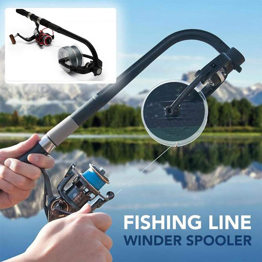 Guidance Portable Fishing Line Spooler Spooling Station System Fishing Reel Winder Baitcaster Reel Line Winder Machine by Guidance (Image #2)