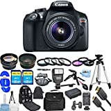 Canon EOS Rebel T6 DSLR Camera with 18-55mm Lens 1159C003 (Black) [International Version] (All You Need Bundle)