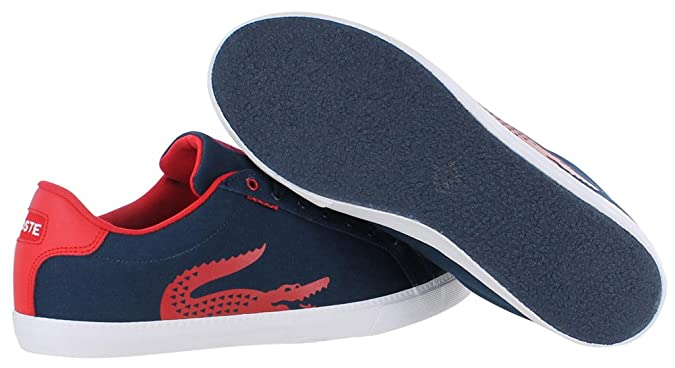 fb907a46f5383 Lacoste Men s Grad Vulc TSP Us SPM Dk Blu red Fashion Sneaker  Lacoste   Amazon.ca  Shoes   Handbags