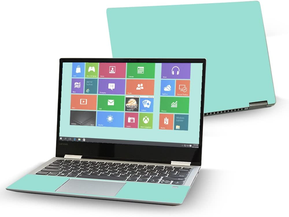 "Mightyskins Skin Compatible with Lenovo Yoga 720 13"" (2017) - Solid Seafoam 