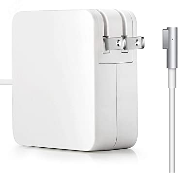 Mac Book Pro Charger, Replacement 60W L-Tip Magsafe 1 Power Adapter Charger for Mac Book and 13-inch Mac Book Pro(Before Mid 2012 Models)