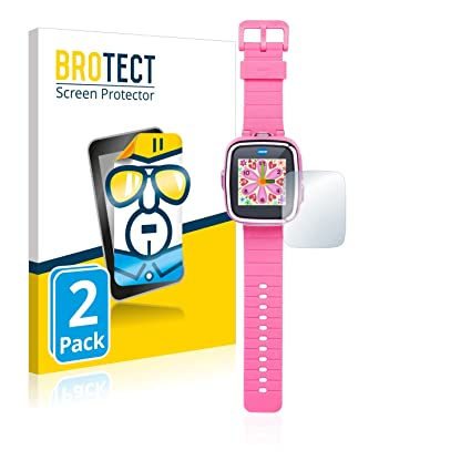 BROTECT Protector Pantalla Compatible con Vtech Kidizoom Smart Watch DX [2 Unidades] - Transparente