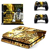 Hytech Plus Lego Star Wars The Force Awakens Theme Sticker for PS4 Console and 2 Controllers