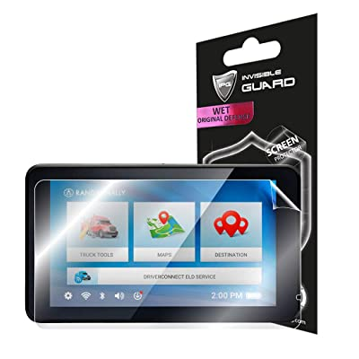 "IPG for Rand McNally TND 740 IntelliRoute Truck 7"" Navigation Screen Protector Invisible Ultra HD Clear Film Anti Scratch Skin Guard - Smooth/Self-Healing/Bubble -Free: Electronics"