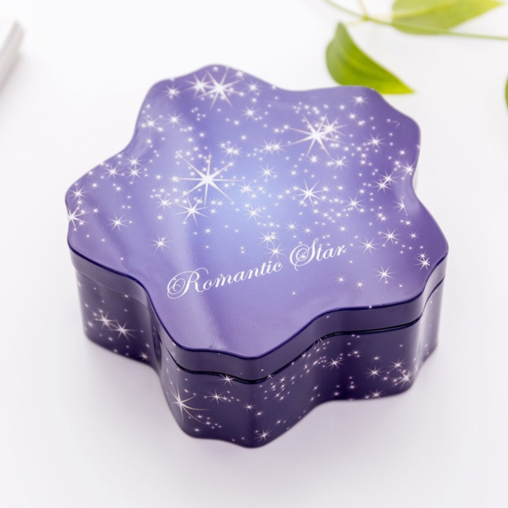 BERTERI Metal Round Tins 3PC Candle Tins Gift Containers, Great for Party Favors, Gels, Creams, Crafts, Candies and Gifts