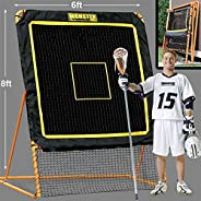8'X6' Professional Folding Lacrosse Rebounder | LAX Throwback to Practice Your Passes and