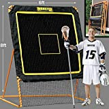 EZGoal 8'X6' Professional Folding Lacrosse Rebounder | LAX Throwback to Practice Your Passes and Catches